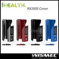 Wholesale Original Options - Wismec Replaceable Front and Back Cover for Reuleaux RX200 Reuleaux RX200S Mod 100% Original 4 Color Options