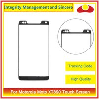 Wholesale Droid Razr Hd Digitizer - For Motorola Moto Droid Razr XT910 XT912 Razr HD XT925 XT926 Droid RAZR XT907 XT890 Front Outer Glass Lens Touch Screen Panel Digitizer