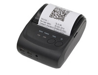 Wholesale Printer Receipt Paper - Paper Capacity 58mm Mini Portable Thermal Printer Thermal Printer Receipt POS-5802LD for Windows Android Smartphone with Bluetooth 4.0 4.3