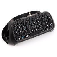 Wholesale Bluetooth Keyboard Best - Black Mini Bluetooth wireless Best Adapter keyboard Keypad for DualShock 4 PlayStation 4 PS4 Controller