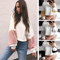 Wholesale Woman S Sweaters Cheap - Fashion Pullovers Cheap Sweater Women New Autumn winter Loose Long Sleeve Elegant Female Plush Sweaters Loose Outwear