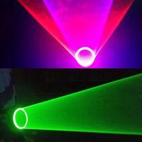 Wholesale Hand Laser Led - 1Pcs Red Blue Green Laser Vortex Gloves Laser DJ Tunnel Effect Auto Rotating Vortex Laser Glove LED hand light for Dance Party Club