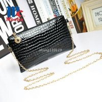 Wholesale Nice Ladies Clutch Bags - Nice new design shoulder crossbody bags for women chain women leather handbags clutch women messenger bags ladies purse DB5222