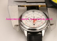Wholesale Strap Duo - New arrived Automatic movement High quality Duo dial leather strap wristwatch Sky Moon Tourbillon