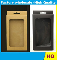 Wholesale Note2 Retail Box Case - Cell Phone Case OEM Blank Retail Package Plastic Packaging Paper Box Packing for iPhone 4 5 6 Galaxy S3 S4 Note2 Case with Tray