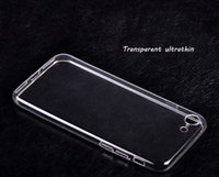 Wholesale Iphone Cases Part - Transparent Ultrathin iPhone 7 7plus TPU cases For Apple IPhone Hand Sheath Protect Shell Parts
