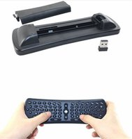 Clavier 2.4G Mini Fly Air Mouse T6 2.4GHz RF Wireless Qwerty Souris Combo à distance pour PC Android TV Box MXQ MX MXIII M8 MK802 CX-919 tv stick