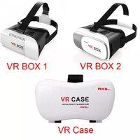 Wholesale phone case mount online - Head Mount Plastic VR BOX Version D Virtual Reality Glasses Rift Google Cardboard D Movie for quot quot Smart Phone VR Box VR Case