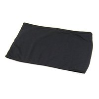 Wholesale Strap Tube - Wholesale-Wholesale 10PCs Lot Black Sexy Strapless Boob Tube Top Bandeau Bra Wiping Clubwear Crop Stretch