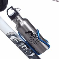 Wholesale Bike Bottle Aluminum - Full Carbon Fiber Bicycle Bottle Water Cage MTB Road Bike Bottle Holder FREE SHIPPING COLORFUL