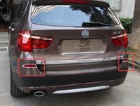 Wholesale Cover Rear Fog Light - TAIL REAR fog light LAMP cover trim 2PCS FOR BMW X3 F25 2011 2012 2013 2014 2015