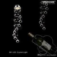 Wholesale Small Led Ceiling Light Fixtures - Modern Small Crystal Ceiling Light Fixture Spiral Crystal Lamp Crystal lustre Light fitting LED Lamp for Aisle Hallway Porch Staircase