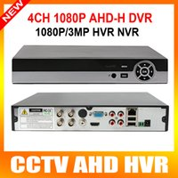 Wholesale Dvr Ip Channel - 4 Channel AHD DVR AHDH 1080P 960P Security CCTV DVR 4CH Mini Hybrid HDMI DVR Support 2MP IP Analog AHD Camera
