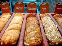 formas de pão venda por atacado-Festa Forma de Pão de Fibra de Vidro de Vidro Panelas de Pão Crocantes Antiaderentes Molde de Cozimento Perfurado Sub Rolos 4 Bandeja de Pão Baguete Pão