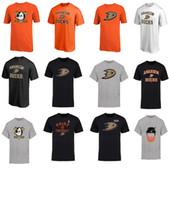 Wholesale Yellow Duck T Shirt - 2017 NHL Ryan Kesler Ryan Getzlaf Anaheim Corey Perry Ducks Name and Number Player T-Shirt for man women kid