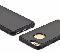 fall iphone neues produkt großhandel-China Wholesale neue Produkte PC + TPU Anti Schwerkraft Fall für iPhone 5 6 Handy Cover Case