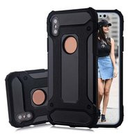 Wholesale Note Case Sgp - SGP Steel Armor Case For Iphone X 8 7 6 6s Plus Samsung Note 8 S8 Plus Google Pixel Xl TPU PC Protective Cover Shockproof Case With OPPBAG