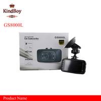 """Wholesale Dual Camera Dash Cams - car dvrs new GS8000L 2.7"""" Car DVR Vehicle Camera Video Recorder Dash Cam G-sensor Camera 111179C dash cam"""