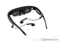 vidéos de produits achat en gros de-Lunettes vidéo virtuelles à écran virtuel de 72 pouces Lunettes de cinéma 3D à mémoire flash intégrée de 4 Go de lunettes intelligentes Nouveaux produits électroniques