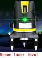 Wholesale laser line green - Wholesale-laser marking instrument leveling line laser leveling instrument Green Line