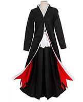 ingrosso ichigo kurosaki cosplay-Costume cosplay completo di Bleach Kurosaki Ichigo