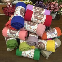 Wholesale Candy Colors Baby Scarf - 160x50cm New Spring Autumn Winter Baby Child Scarf Kids Solid Color Scarf Boys Girls Scaves Candy Colors