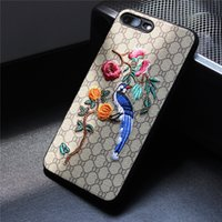 Wholesale Iphone Cover Stock - NEW Fashion Cellphone Case Stylish Mobile Phone Protective Cover Skin for iPhone 8 X 7 6 Plus High Quality in stock