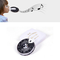 Wholesale Guitar Pitch Pipe - 1Pc 13 Tone Note Key Chromatic C-C Pitch Pipe w  Case Guitar Tuner Tuning Bass