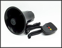 Wholesale Police Car Horn - High perfermance DC12V,3 tone 30W car motorcycle warning siren amplifers alam speaker horn for police,fire and ambulance