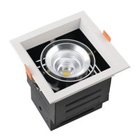 Wholesale Grille Manufacturers - 9W 15W 25W 40W Wholesales Manufacturers LED Grille Lamp Single Head energy-saving lighting embedded COB Cree chip bold Lamp CE ROHS UL