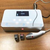 yüz masaj makineleri ev kullanımı toptan satış-Mini RF Güzellik Makinesi Fraksiyonel Radyo Frekansı Yüz Kaldırma Yüz Gençleştirme Cilt Sıkılaştırma için Taşınabilir Masaj Ev Salon Kullanımı