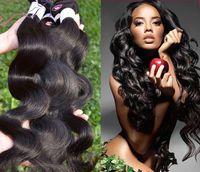 işlenmemiş saç toptan satış-Süper Ucuz cexxy saç brezilyalı bakire saç vücut dalga işlenmemiş 100 g / paket 3 adet brezilyalı vücut dalga kraliçeler saç producrs