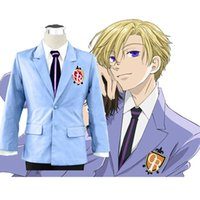 Anime Costumes blazer school - Japan Anime Jacket COSPLAY Disfraces Coat Cosplay Costume Ouran High School Host Club School Uniform Jacket Coat Blazer Costume