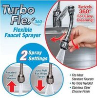 """Wholesale Flexible Faucet - Turbo Flex 360 Sink Faucet Sprayer Jet Stream or Spray 6"""" Faucet Extension Part Flexible Faucet Hose Spray CCA7161 96pcs"""