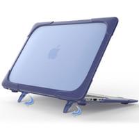 Wholesale Tpu Macbook - TPU hard shell Shock proof Anti Scratch Case For Apple Mac book Air Pro Retina 11 12 13 15 Laptop Cover For Mac book 13.3 inch