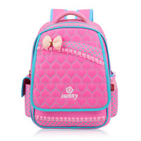 Wholesale String For Kids - New Lace Sweet Girl's School Bags Fashion Lovely Kid Backpack School Backpack For Baby Girl Primary Backpacks Back Pack