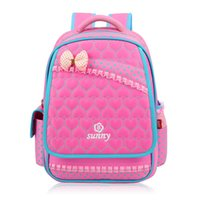 ingrosso zaino bello dei bambini-New Lace Sweet Girl's School Bags Moda Bella Kid Zaino Scuola Zaino per bambina Zaini primari Zaino
