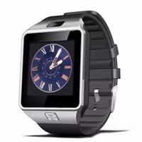 armband handy großhandel-DZ09 Smart Watch Dz09 Uhren Armband Android Uhr Smart SIM Intelligente Handy Schlafstatus Smart Uhr Kleinpaket MQ50