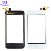 Wholesale Touchscreen Digitizer Parts - Touch Panel Front Glass For Huawei Y3 Y360 Y336 Touch Screen Digitizer Touchscreen Replacement Repair Parts