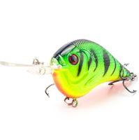 Wholesale free saltwater lures resale online - Fishing Lure Deep Swimming Crankbait cm11 g Hard Bait