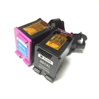 Wholesale Wholesale Hp Cartridges - for HP301 HP 301 ink cartridge for HP 301xl Deskjet 1050 2050 2050s 3050 Envy 4500 4502 4504 5530 5532 5539 printer with Show ink level chip