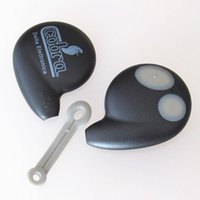 Wholesale Shell Cobra - Malaysia car replacement key shell for Ho cobra 2 button remote key cover FOB key case with high quality