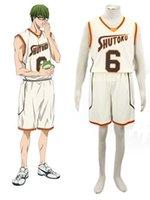 Wholesale Shintaro Midorima - Wholesale-Midorima Shintaro Costume - Kuroko no Basket Midorima Shintaro Cosplay Light Yellow No.6 Mens Kuroko no Basket Cosplay Costume