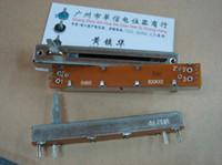 Wholesale fader potentiometer for sale - BELLA ALPHA cm Double Slide fader potentiometer B20K handle length MM
