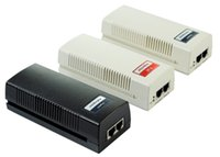 adet mafsal toplayıcılar toptan satış-IP Kamera için 30W 10 / 100M1000M 1 Bağlantı Noktalı 48V PoE Enjektörde IEEE 802.3