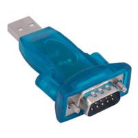 usb seri dönüştürücüler toptan satış-CH340 USB 2.0 RS232 Seri Dönüştürücü 9 Pin DB9 Adaptörü için Win7 / 8/10 Toptan
