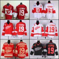 Wholesale Nhl Free - 2016 Men Stadium Series 19 Steve Yzerman Detroit Red Wings Nhl Ice Hockey 2016 Stitched jerseys Free Shipping Mix Order