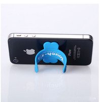 Wholesale Manufacturers Mobile - Touch-U Silicone mobile phone holder pops pat Lazy U-bracket corporate logo custom manufacturers