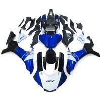 Wholesale Yamaha R1 White Body Kit - Complete Fairings For Yamaha YZF R1 15 16 YZF-R1 2015 2016 Injection ABS Motorcycle Fairing Kit Cowlings Body Kit Fittings Blue White Black