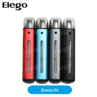 Wholesale Electronic Cigarette One - Original Aspire Breeze Starter Kit All In One Kit electronic cigarettes 2ml tank starter e-cigarette vaper easy to carry 650mah battery